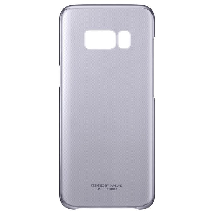 Etui Clear Cover do Galaxy S8+ Fioletowe (EF-QG955CVEGWW)