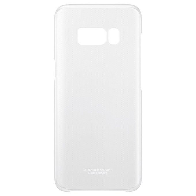 Etui Clear Cover do Galaxy S8 Srebrne (EF-QG950CSEGWW)