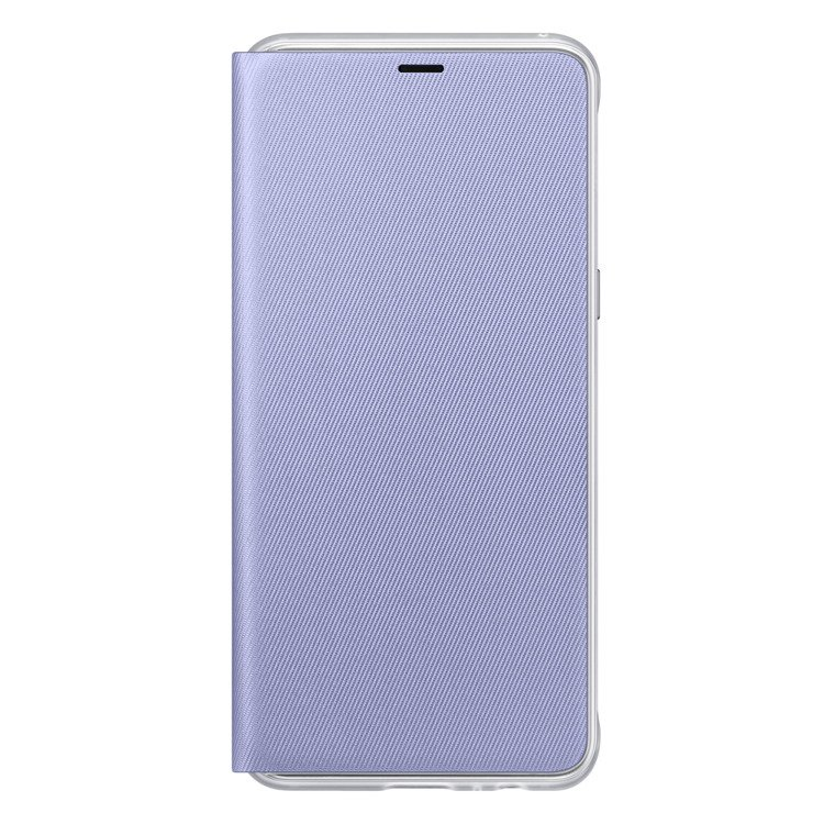 Etui Samsung Neon Flip Cover do Galaxy A8 2018 Fioletowe